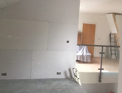 Hidden Mezzanine Installation Above a Kitchen