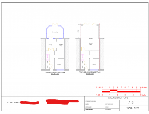 Extension Plans Chorlton